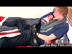 Emo gay nude Brent Daley is a adorable blond emo stud one of our