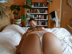 BuztaNut.com - The Sexy Perfect Blonde Girlfriend Has a Tiny Tail