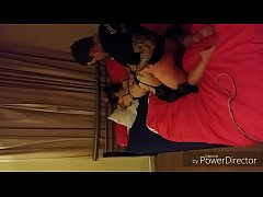 Chelbi dee degraded Tied and fukd hard