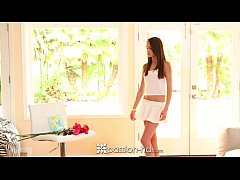 Passion-HD - Pretty Kacy Lane fingers herself w...