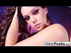 Big boobed Alison Tyler gets banged really hard