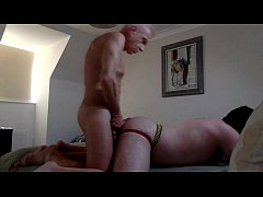 Bareback Older Man Fucks
