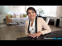 Hot realtor Adria Rae is cock riding machine