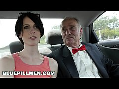 BLUE PILL MEN - Dirty Old Men Stick Their Dirty Old Dicks In Alex Harper's Ass