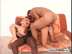 Interracial foursome with two sexy chicks WK-6-02