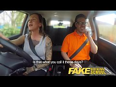 Fake Driving School Advanced horny lesson in sw...