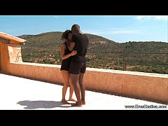 Ebony Couple Fucking Outdoors