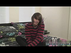 Gay huge dicks emo teen first time Hot emo fellow Mikey Red has never