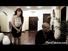 Glamcore taboo MILF fucked in front of hubby