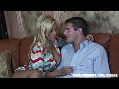HD Busty Mom Holly Halston Shags A Young Cock
