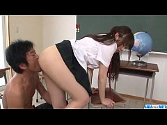 Yuri Sato amazing hardcore with horny teacher - More at Javhd.net