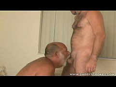 Josh And Lars - Bearish Daddy Sucking Admirers Cock