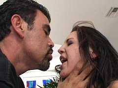sdDouble cock and dp for hot brunette