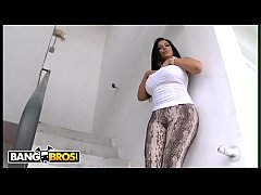 BANGBROS - Latina Gets Banged Out By Big Dick White Boy On Ass Parade!
