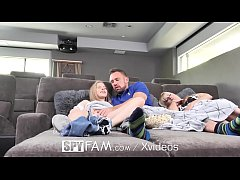 blonde fucks her step dad for fathers day