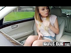 Mofos - Stranded Teens - Natural Teen Fucks for a Ride starring  Alex Blake