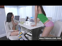 realitykings - we live together - alexis deen kiley jay - footsie for breakfast