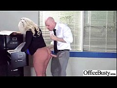 Busty Horny Girl (julie cash) Get Hard Style Banged In Office vid-20