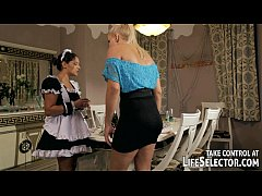 Brandy Smile punishes the stealing housemaid