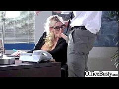 (julie cash) Big Round Tits Girl Enjoy Sex In Office clip-25