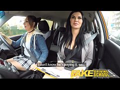 Fake Driving School Daddys girl fails her test ...