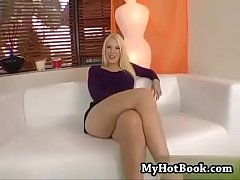 BIG ASS BLONDE FUCKING HARD.