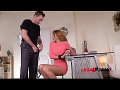 BDSM cravings & hardcore spanking in chains makes Marilyn Crystal cum hard GP516