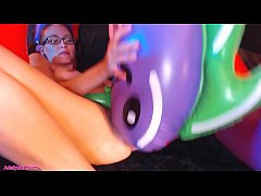 HD AdalynnX - Inflatable Hydra Fun!!!
