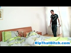 Helpless young blonde Carolien Mikkelsen gets tied and abused anally