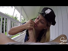 SinsLife - Female Police Officer Gets Fucked by HUGE BIG DICK