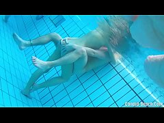 HD Underwater nude couples sex cam hidden spy