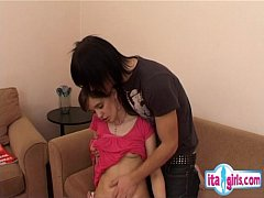 Sorella riding creampie
