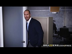 Brazzers - Big Tits at Work - The Whole Package scene starring Lennox Luxe and Sean Lawless
