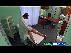 Fake Hospital Hot sales girl uses her tight pussy to close a deal