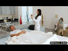 first boy girl scene of hot milf nurse melissa lynn