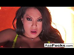 Asa Akira gets nude for you