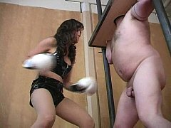 Boxing with the balls