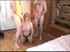 Two bisexual babes get fucked in a pawnshop for money