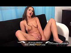 Wetandpissy - Nicolette Noir gets soaked in golden piss in this peeing video
