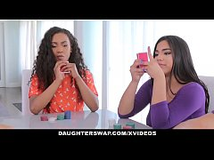 DaughterSwap - Hot Latina Bestfriends Fucking Daddys