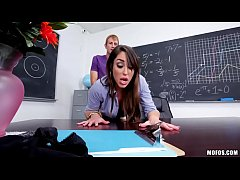 Christiana Cinn - Anal Lesson From Tutor in Stockings - zorritasx.com