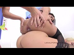 LEGALPORNO FULL SCENE - Dominica, Nomi & Cheryl S Triple Stacked