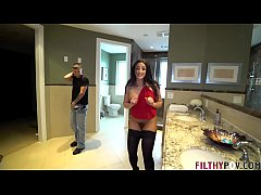 Catching my Wife Fuck Another Man in our Bathroom!