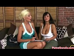 Euro blonde Puma Swede Fucks Lisa Ann