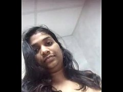 college girl in chennai showing her boobs and pussy in bathroom