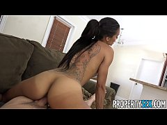PropertySex - Dad fucks insane hot ass Latina real estate agent