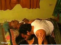 wife cheats her old age husbend wile sleeping