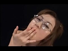 Glasses Messy Bukkake Japanese Cumshots