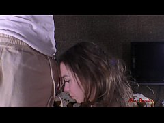 INCREDIBLE INTENSE BLOWJOB. HE CUMS ON MY FACE AND I SWALLOW. MIA BANDINI