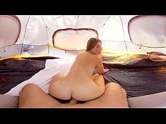 VRBangers.com ANYA OLSEN ROCKING THE TENT AND GETTING FUCKED OUTDOORS
